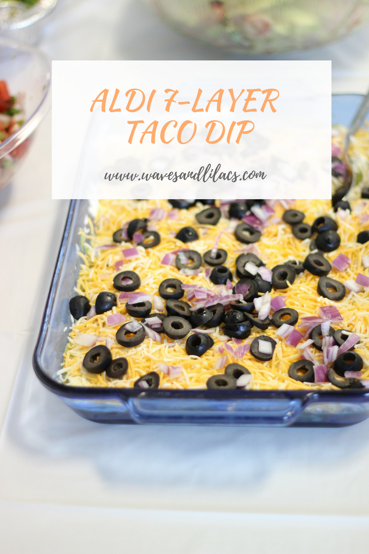 aldi seven 7 layer taco dip from bethany at wavesandlilacs.com