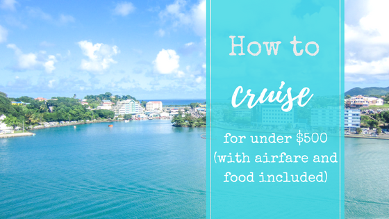 How to Cruise for under $500
